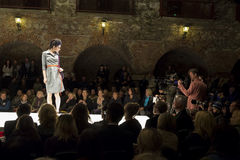 Fashion event in Graz Stock Images