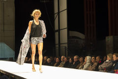 Fashion event in Graz. Fashion event on Graz Designmonat, 23.05.2013 Stock Photography