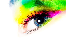 Fashion eye Royalty Free Stock Image