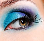 Fashion eye Stock Image