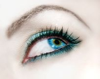 Fashion eye Royalty Free Stock Photo