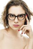 Fashion eyewear Royalty Free Stock Photos