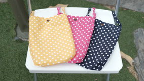 Fashion Fabric Cross Body Bags Stock Photos