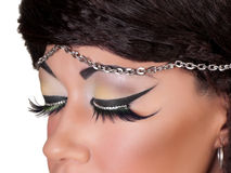 Fashion Face Close-up Royalty Free Stock Images