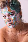 Fashion Face Painting 1 Royalty Free Stock Photo