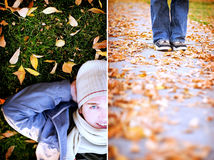 Fashion Fall Male Royalty Free Stock Photography