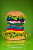Fashion fast food Stock Image