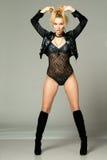 Fashion female model Stock Image