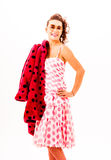 fashion from the fifties Royalty Free Stock Image