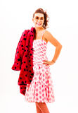 fashion from the fifties Royalty Free Stock Photography
