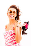fashion from the fifties Royalty Free Stock Photo