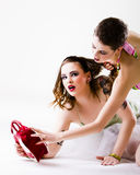 Fashion fight Royalty Free Stock Images