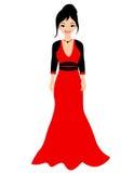 fashion flickan Royaltyfri Fotografi