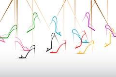 fashion gatan vektor illustrationer