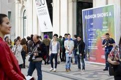 Fashion gathering Stock Photo