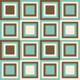 Fashion pattern with squares Stock Images