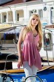 Fashion girl Royalty Free Stock Image