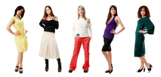 Fashion girl Stock Image