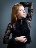 Fashion girl Stock Photography
