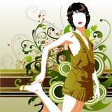 Fashion girl Royalty Free Stock Photo