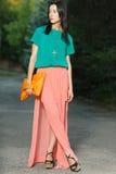 Fashion girl Stock Images