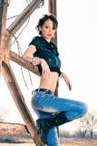 fashion girl Obrazy Royalty Free