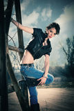 fashion girl Obrazy Stock