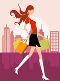 Fashion girl Royalty Free Stock Photo