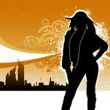 fashion girl Стоковая Фотография RF