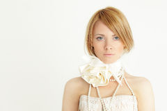 Fashion girl with bob haircut Stock Photos