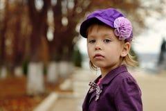 Fashion girl in fall Stock Photo