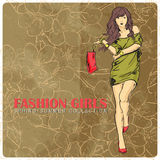 Fashion girl. Royalty Free Stock Images