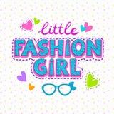 Fashion girl illustration Stock Photo