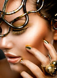 Fashion Girl Portrait stock image