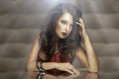 Fashion Girl Portrait Royalty Free Stock Photography