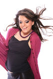 Fashion girl posing Stock Image