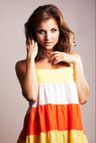 Fashion girl posing Stock Photo