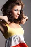 Fashion girl posing Royalty Free Stock Photography