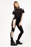Fashion girl`s portrait Stock Images