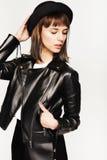 Fashion girl`s portrait Stock Photo