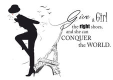 Fashion girl in sketch-style. With fashionable quote. Vector illustration Stock Photo