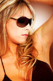 Fashion girl- sunglasses Stock Photo