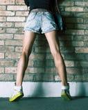 Fashion girl. urban style Royalty Free Stock Photography