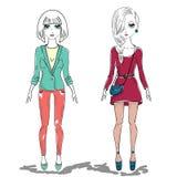 Fashion girl, woman Royalty Free Stock Photo