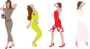 Fashion girls Royalty Free Stock Photography