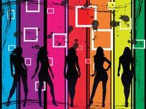 Fashion girls Stock Photos