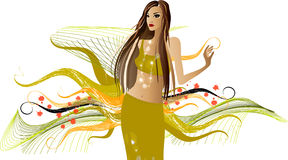 Fashion  girls Royalty Free Stock Photos