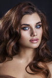 Fashion Glamour Makeup. Beauty Model Girl With Glamor  Make-up A