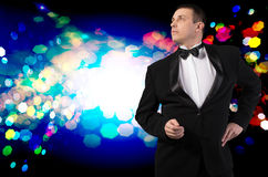 Fashion Glamour Man Royalty Free Stock Photo