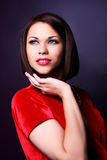 Fashion and glamour women Stock Photography